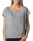 6960 Next Level Ladies' Terry Dolman Tee