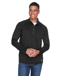 88187 Ash City - North End Men's Radar Half-Zip Performance Long-Sleeve Top