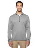 A274 adidas Golf Brushed Terry Heather Quarter-Zip