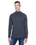 D420 Devon & Jones Sueded Cotton Jersey Mock Turtleneck