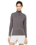 W3006 All Sport for Team 365 Ladies' Quarter-Zip Lightweight Pullover